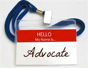Hello my name is advocate